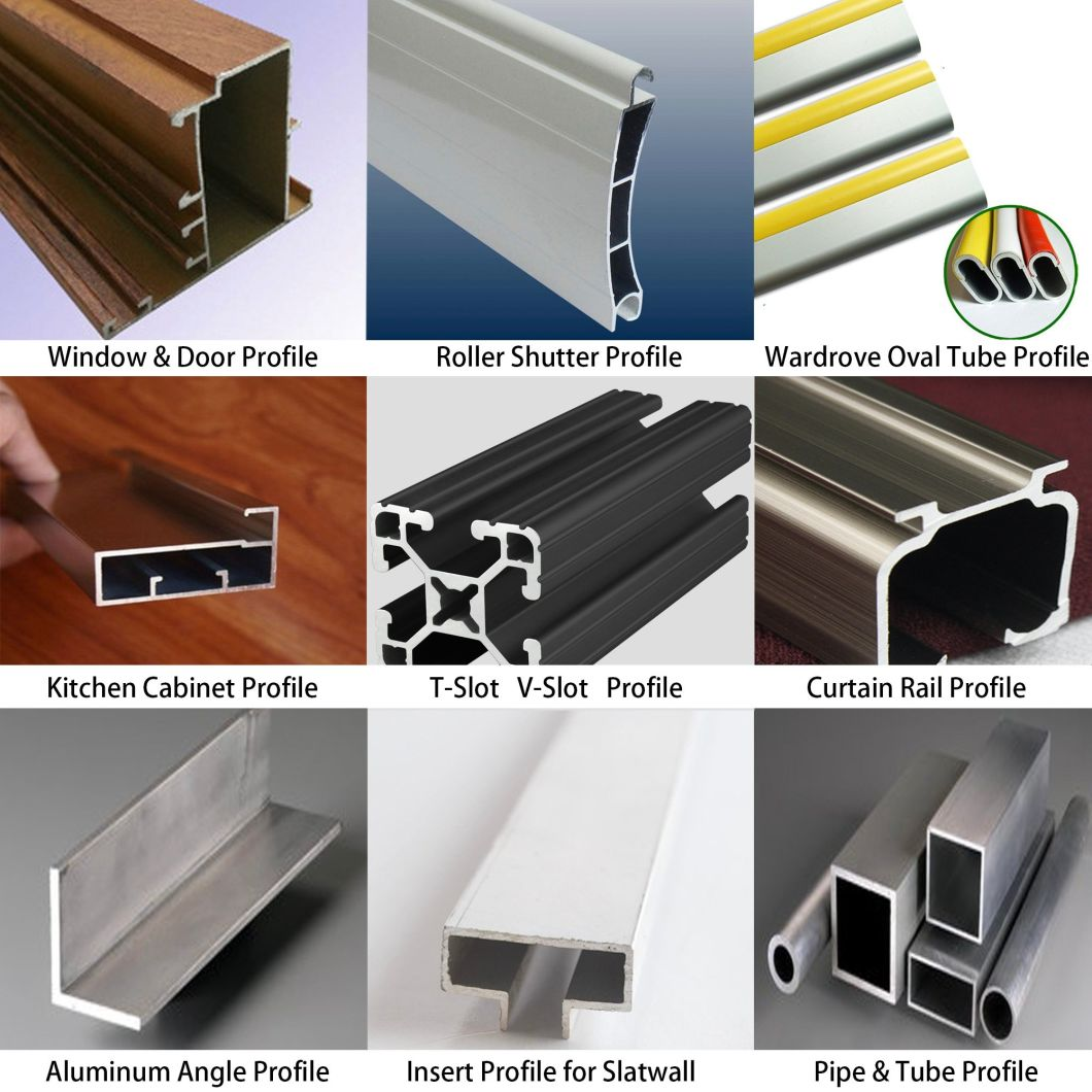 Customized Hot Sale 6063 Alloy Aluminium Profile China Supplier Aluminum Extrusion Profile