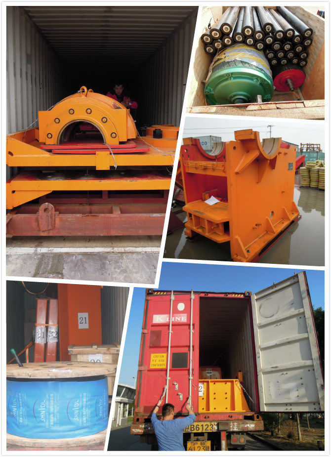 Stone Crusher Line for Construction Equipment