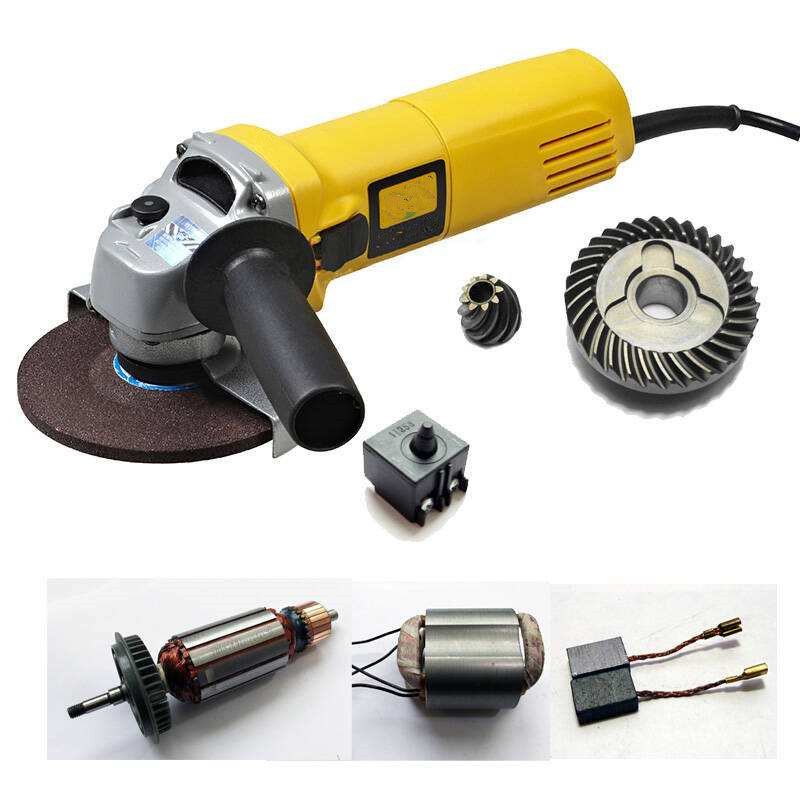 China Electric Mini Variable Speed Grinding Machine Attachments, 100mm Angle Grinder