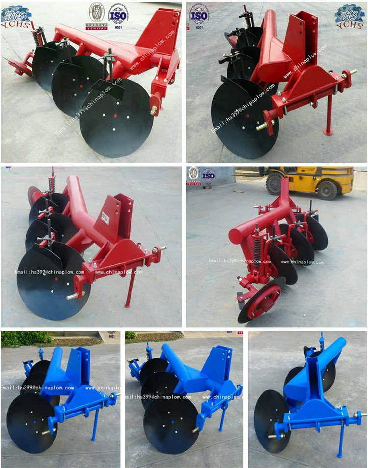 Farm Pipe Disc Plough 3 Discs Implement Manufacturer