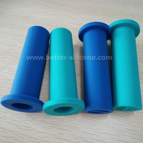 Custom Molding Silicone Rubber Handle Grip Sleeve for Bicycle Handle