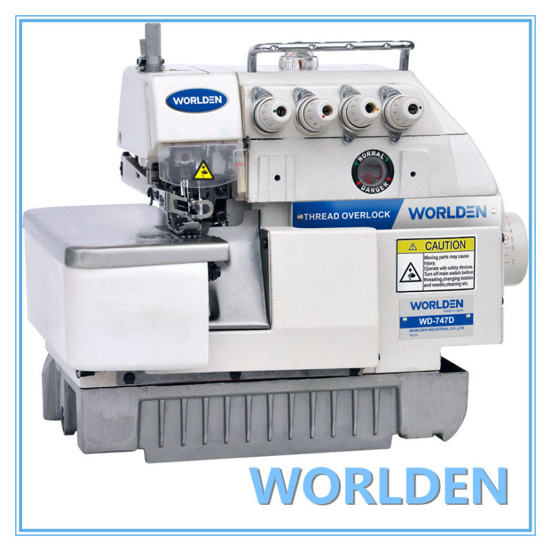 Wd-747D Direct Drive Overlock Sewing Machine