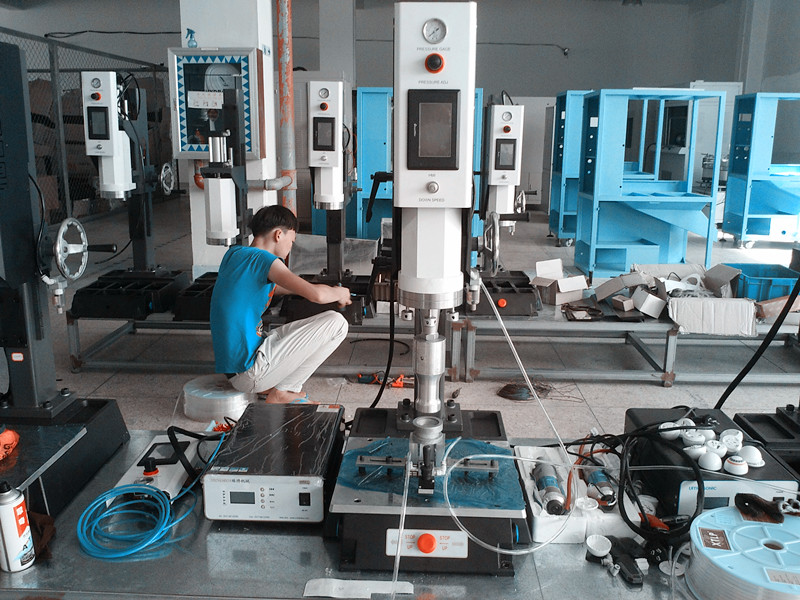 High Frequency Ultrasonic Welding Machine for Ammeter Shell