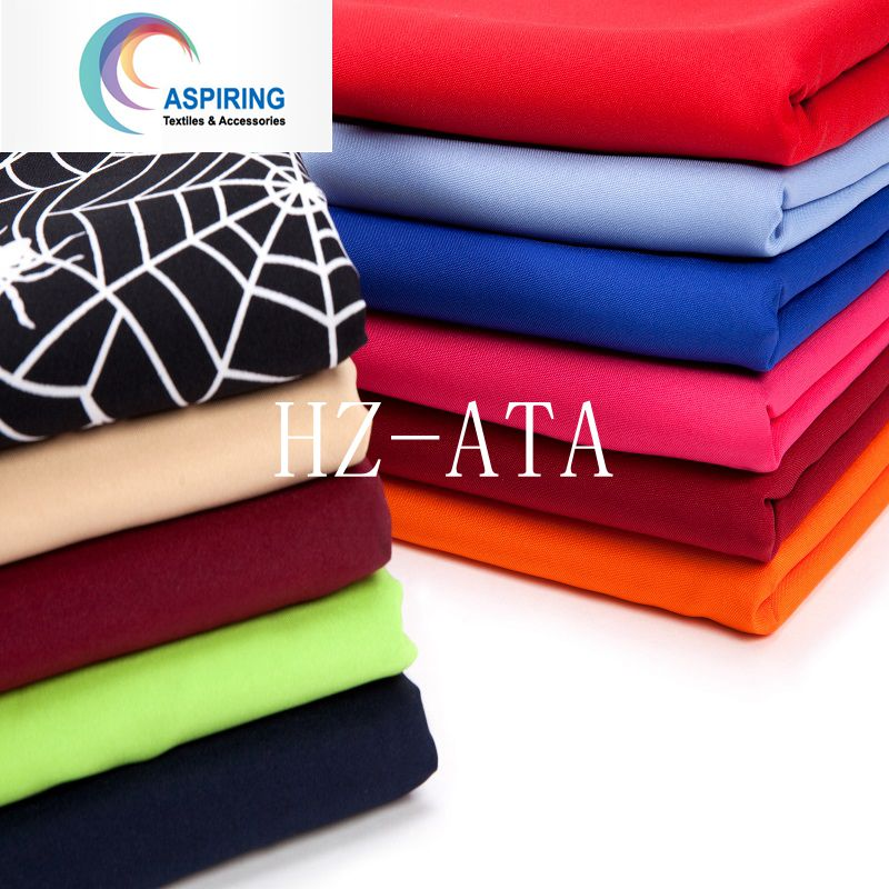 100% Polyester Colorful Satin Fabric