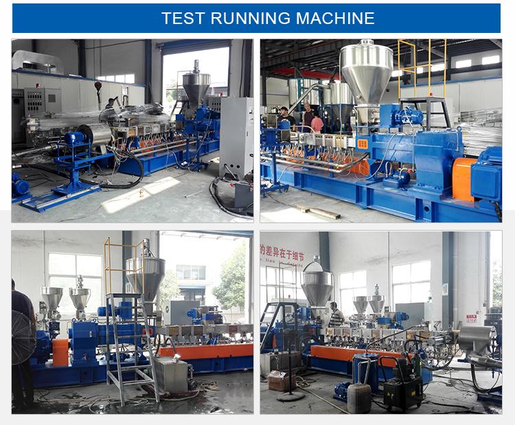Water Treatment Plastic Color Masterbatch Granulating Machine