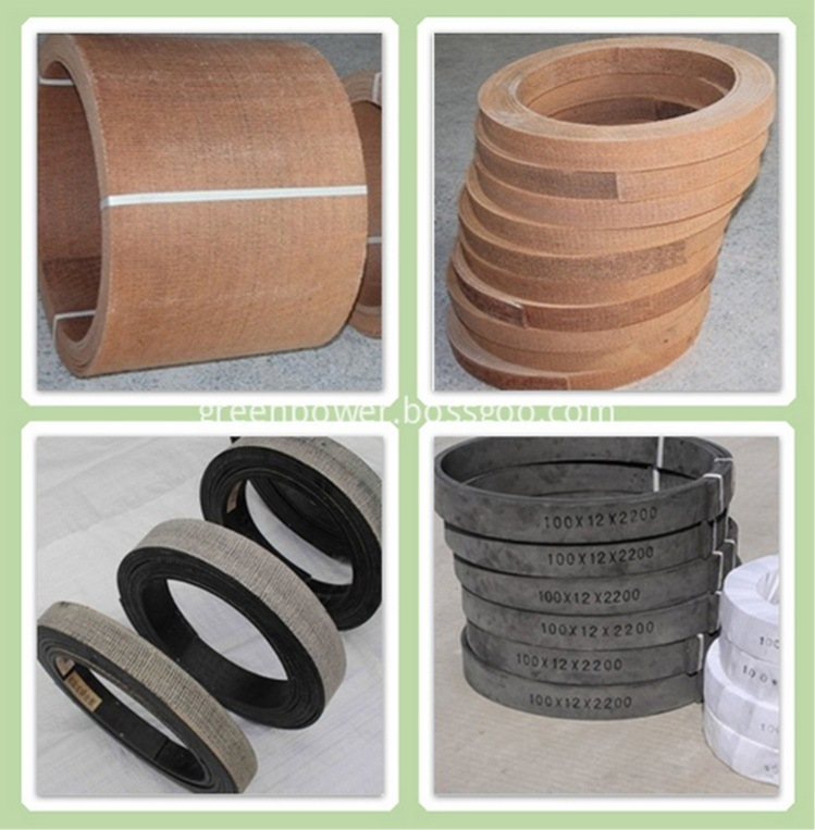 Anchor Winches Brake Lining Roll Asbestos