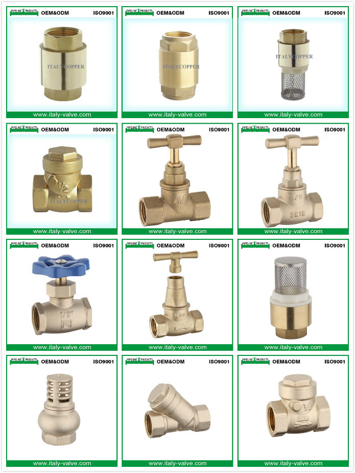 Hot Selling Customized Forged Brass Stop Valve (AV4002)