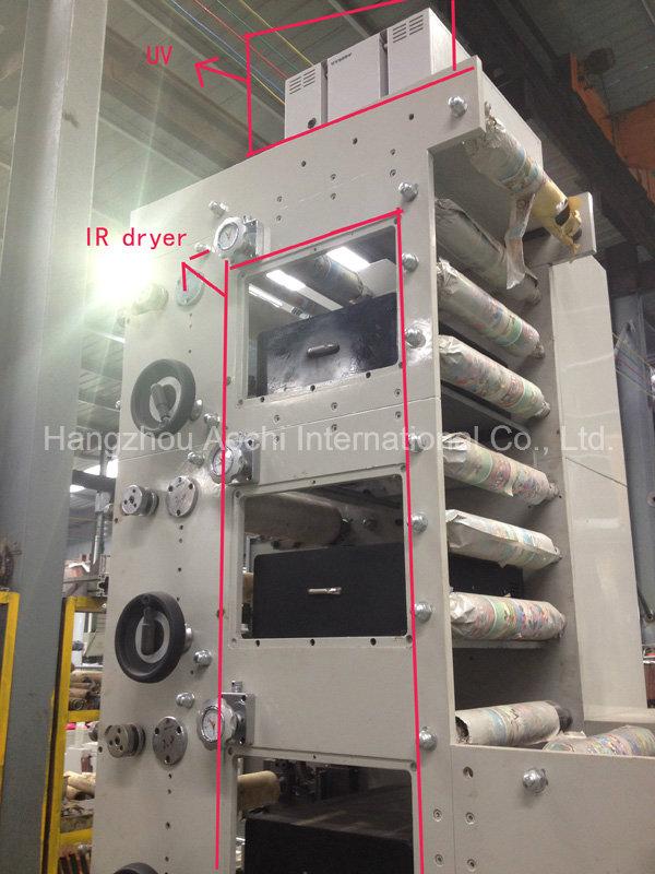 Flexo Printing Machine with Slitting Unit (AC320-5B)
