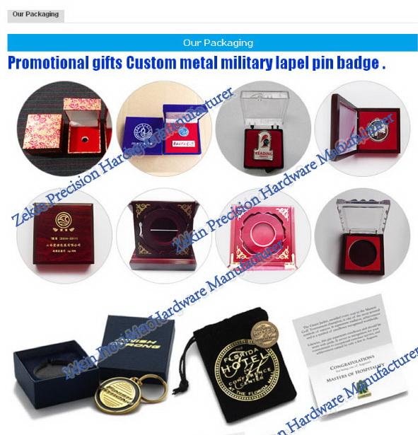 Durable Custom Enamel Metal Badge for Souvenir Gifts