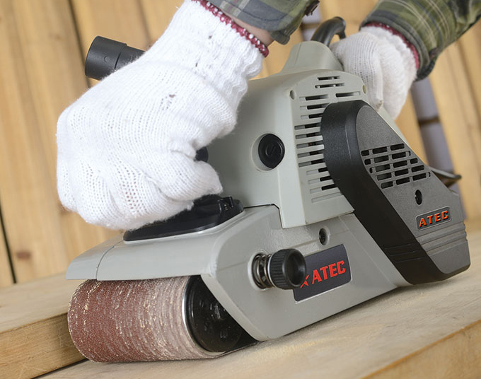 Sander 1200W Good Quality portable Belt Sander Machine (AT5201)