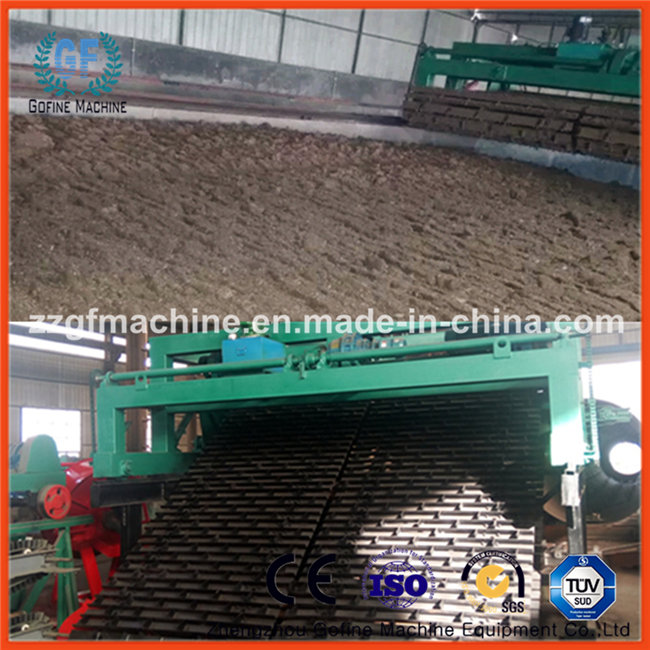 Great Depth Chain Plate Compost Turner