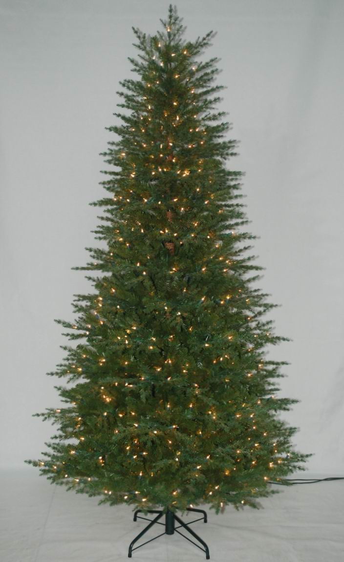 Realist Artificial Christmas Tree with String light Multi Color LED Decoration (AT1005)