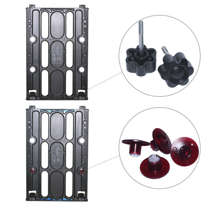 Intelligent Alarm Access Safety Inspection Portable Metal Detector with Rechargeable Battery