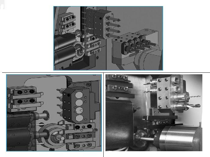 Aluminum Die Casting Making Vertical CNC Lathe Machine BS205