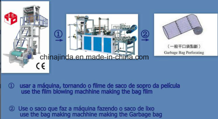 Plastic Bag Production Line Film and Bag Making Machine