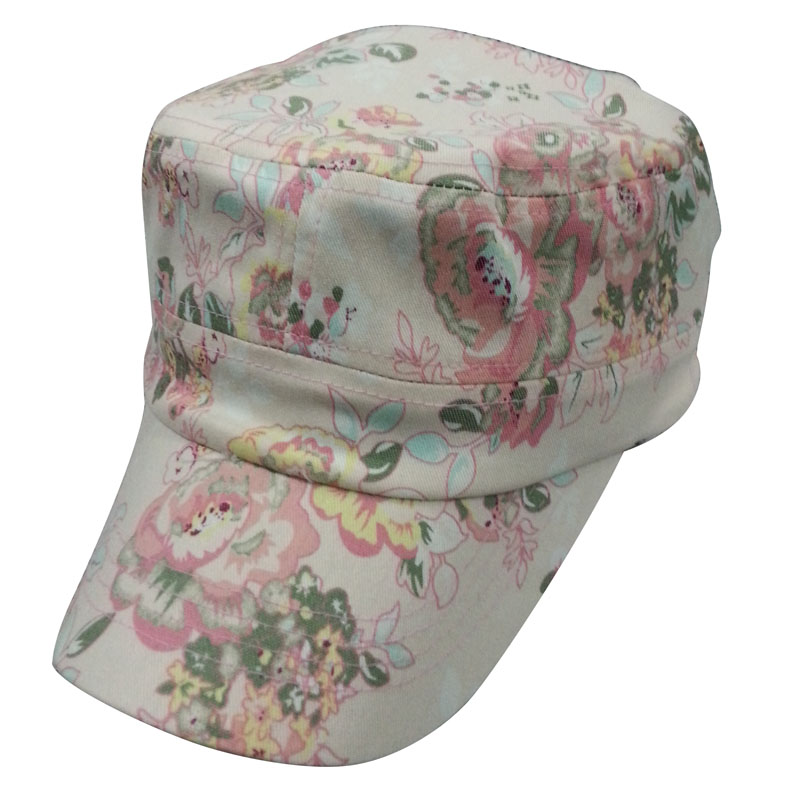 Cotton Fabric Army Cap Mt53