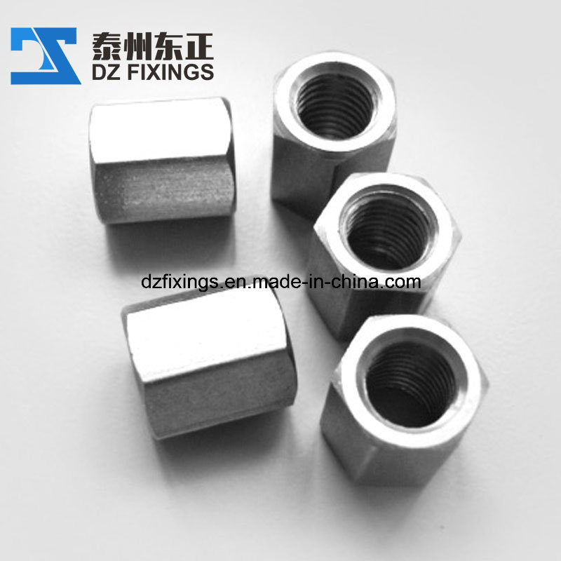 Stainless Steel Hex Long Nut/Coupling Nut (DIN6334)