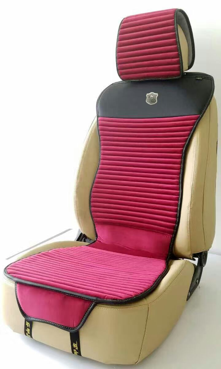 Car Seat Cover Slim Shape with Velour and Nature Fragrance