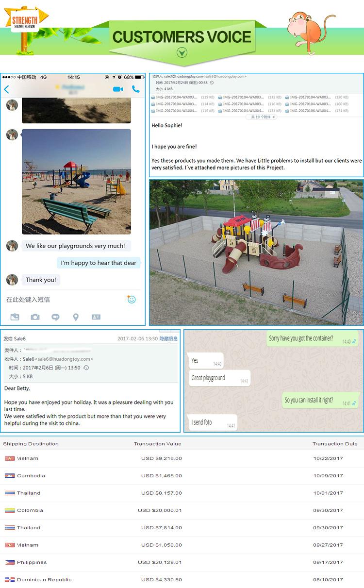 Sale Children Play Game Equipment Outdoor Playground Slide