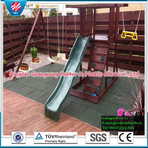Waterproof Indoor Rubber Flooring Tiles Square Rubber Floor Tile Playground Rubber Flooring