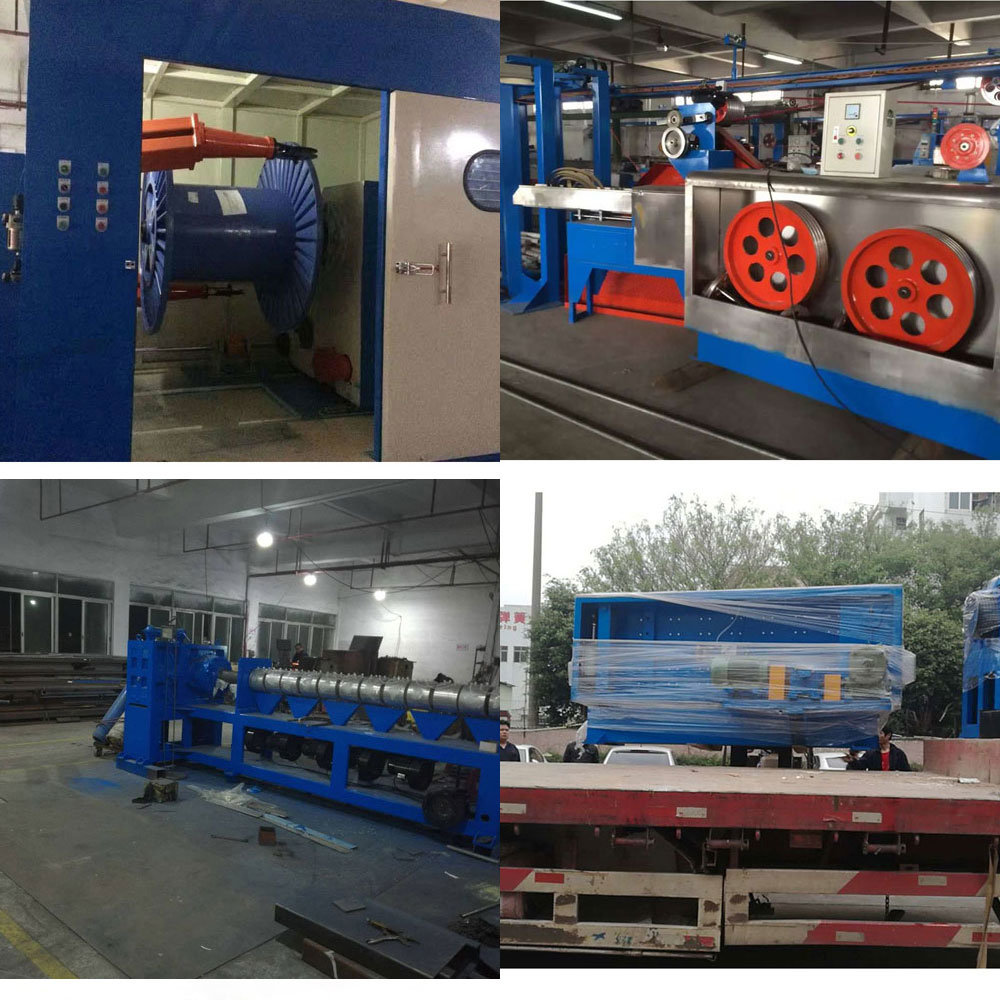 630/1+6 Tubular Planetary Stranding Wire Cable Machine
