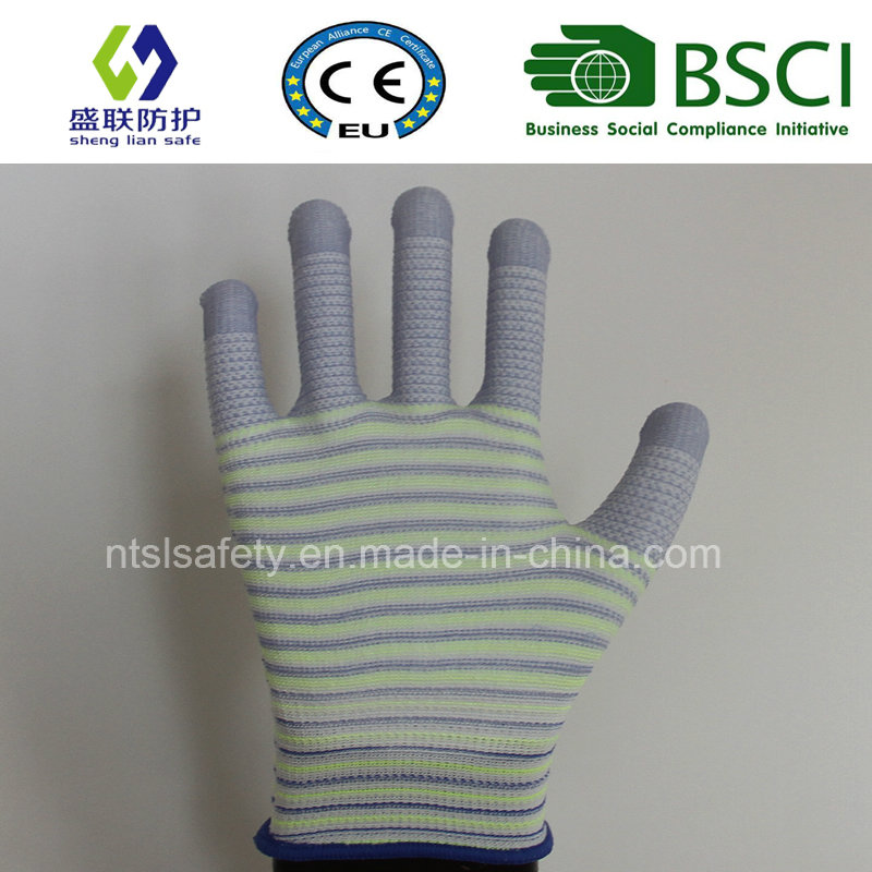 ESD Nylon PU Top Fit Glove (SL-PU201U3)