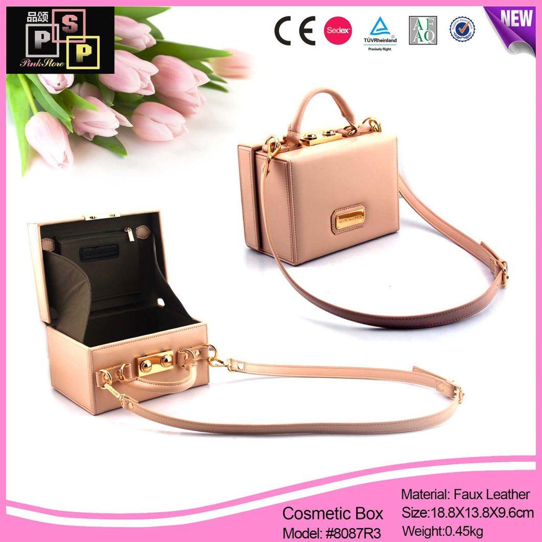 Elegant Pink Stylish Bags Fashion Cosmetic Bags (8087R3)
