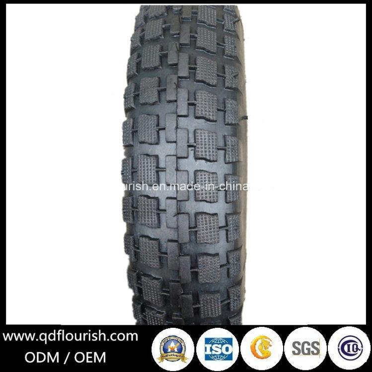 3.25-8 Brazil Pattern Tyre and Inner Tube for Wheelbarrow