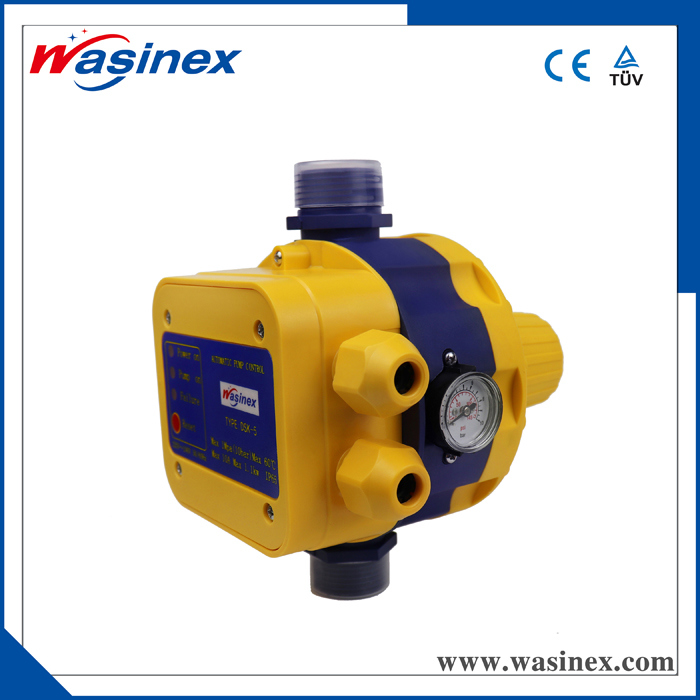 2018 New Design Full Automatic Water Pump Pressure Controller/ Electric Switch with European Plug