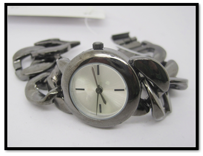 Hanglee-1528 Factory High Quality Silver Ladies Bracelet Watch
