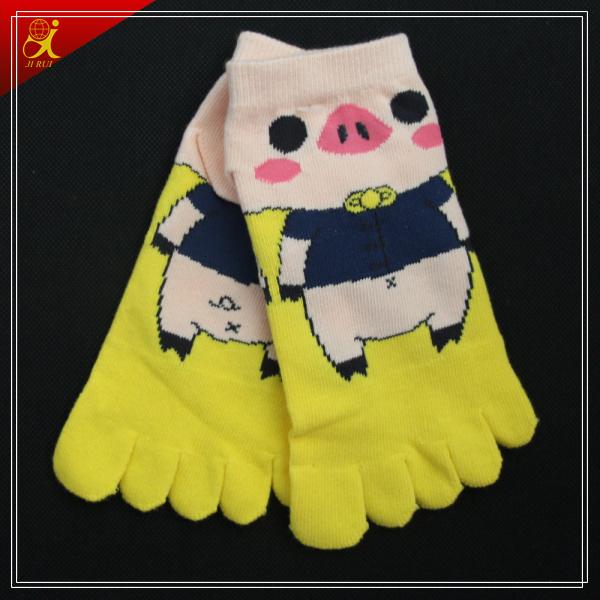 Quality Toe Socks Print Custom