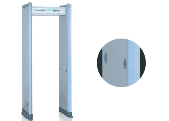 Double Infrared Human Body Inspection Walkthrough Metal Detector for Airport Station