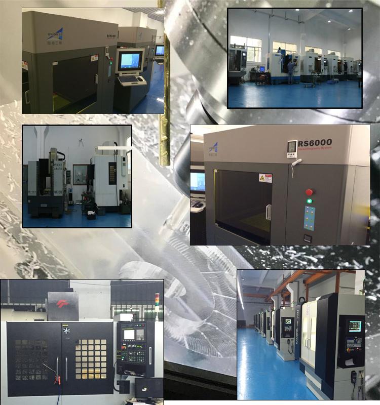 CNC Machining Aluminum Rapid Prototype 3D Printing Aluminum Parts in China