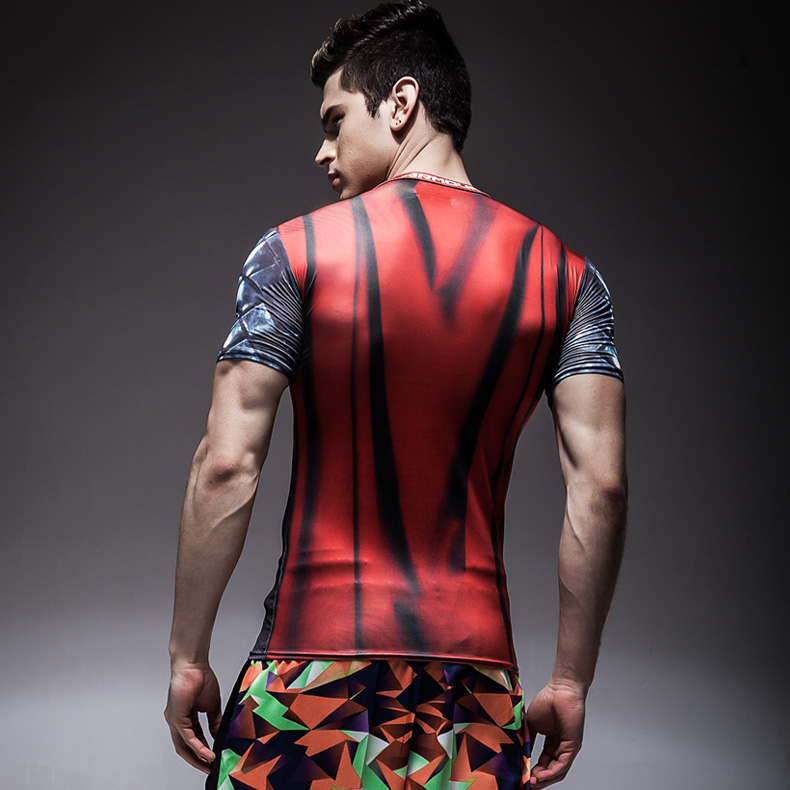 Custom Sublimation Printed Unisex Lycra Anti-UV Rashguard Men MMA Rash Guard