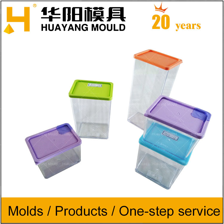Plastic Stacking Food Seasoning Storage Container Moulds/Molds