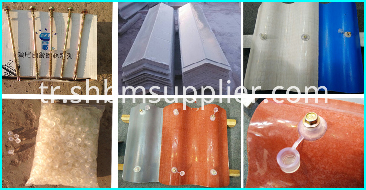 High strength pvc roof shingles