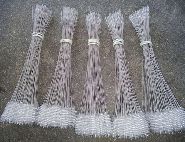 Nylon Wire Stainless Steel Handle Cleaning Brush (YY-598)