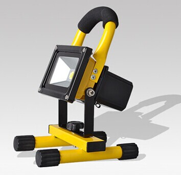 New 10W Rechargeable & Portable LED Outdoor Solar Flood Camping Light