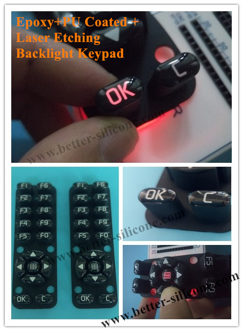 Custom Elastomer Silicone Rubber Button for Remote Controller