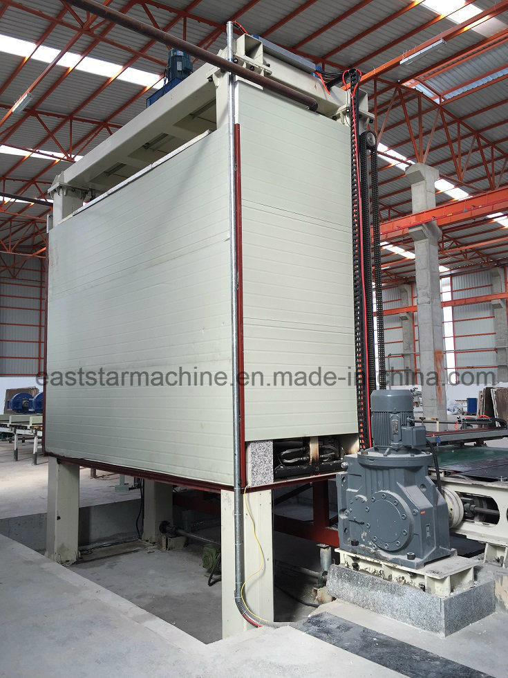 Artificial Quartz Stone Slab/Tile Press Making Machine