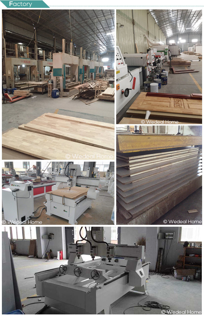PVC Laminated Door for Interior Room with Glass (WDP2042)