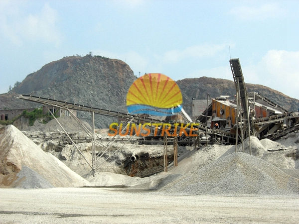 Stone Crushing Line/Sand Making Site with High Reputation