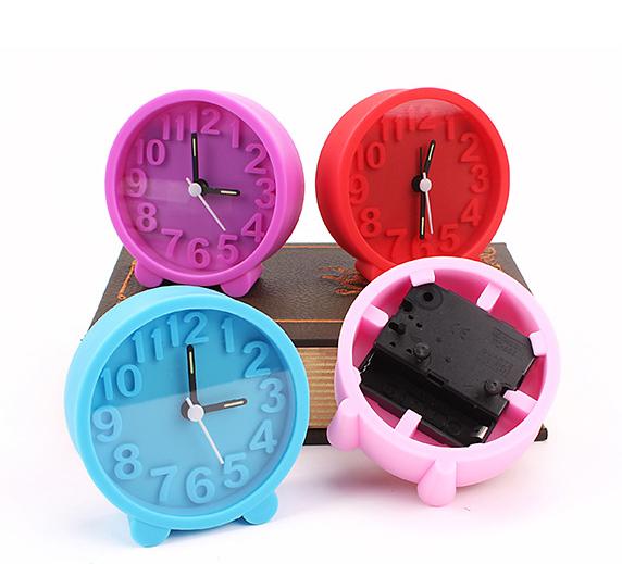 Wholesale Silicon Mini Table Alarm Clock