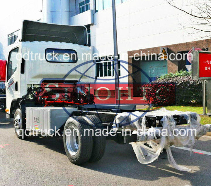 4X2 electric vehicle goods carrier, 260km driving range electric truck