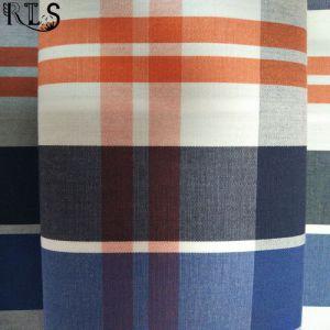 100% Cotton Poplin Woven Yarn Dyed Fabric for Shirts/Dress Rls40-4po