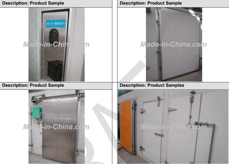 High Quality China Factory Price Food Cold Storage for Sale