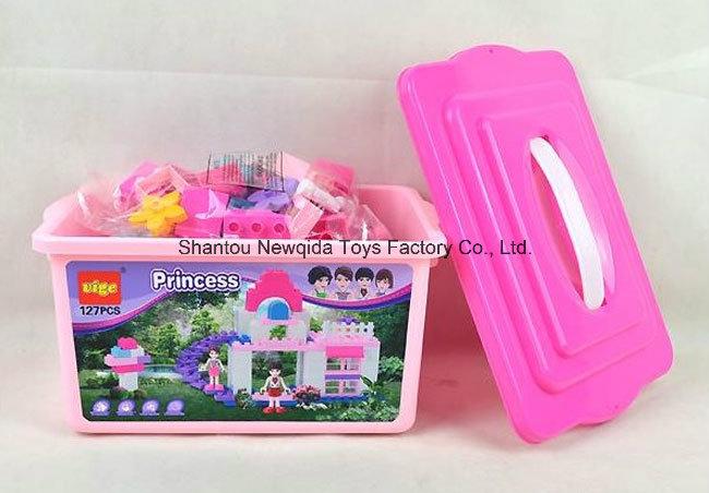 127PCS DIY Princess Block Building Toys for Children