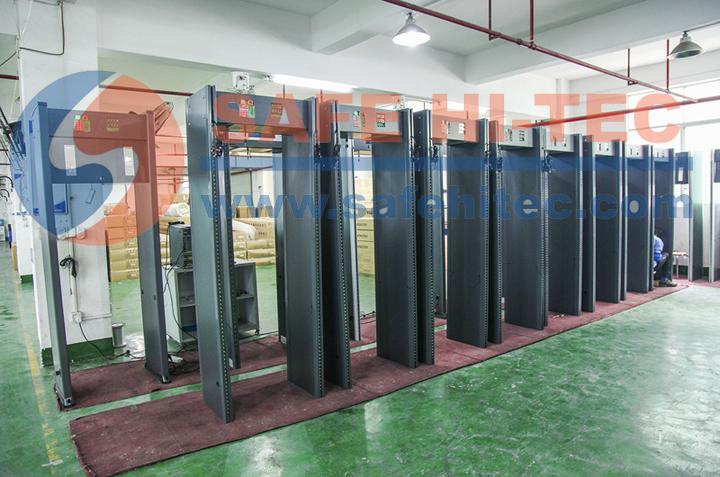 Metal Scanner Walk Through Metal Detector Door for Checking Dangerous Items SA-IIIC