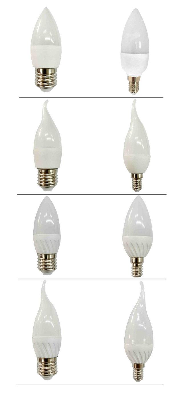 Ce RoHS E14 Vela Bombilla LED Light Bulb