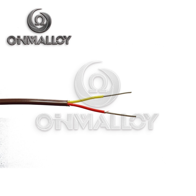 +Nicr /-Nial Material Type K Thermocouple Cable with PTFE / PVC / PFA Insulation